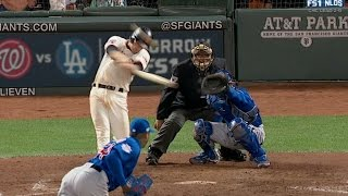 Gillaspie gives Giants the lead on triple