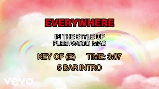 Fleetwood Mac - Everywhere (Karaoke)