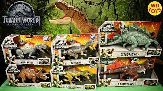New Jurassic World Metriacanthosaurus Roarivores Unboxing T-Rex Vs Fallen Kingdom Mattel  Vs Hasbro