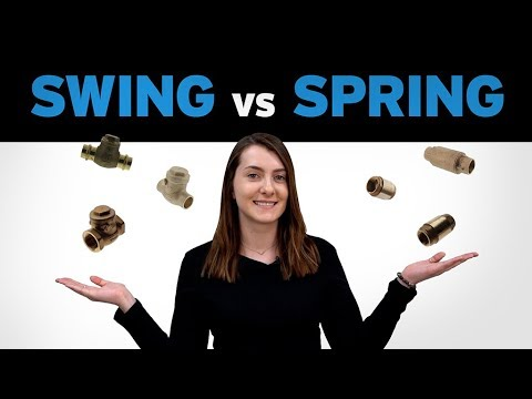Differences Between Swing Check Valves and Spring Check Valves