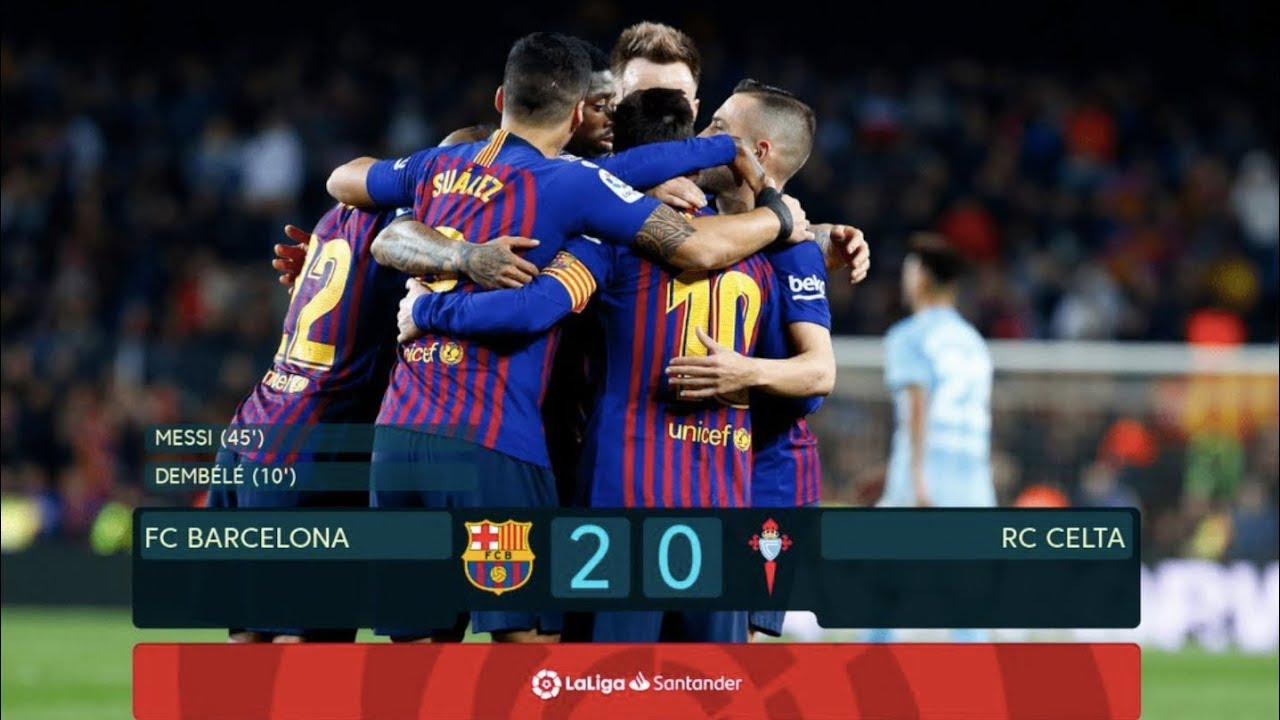 Barcelona Vs Celta Vigo   La Liga  Match Review