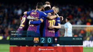 Barcelona vs Celta Vigo [2-0] - La Liga 2018/19 - MATCH REVIEW