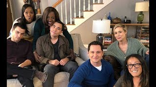 HTGAWM Cast videos/behind the scenes 2018