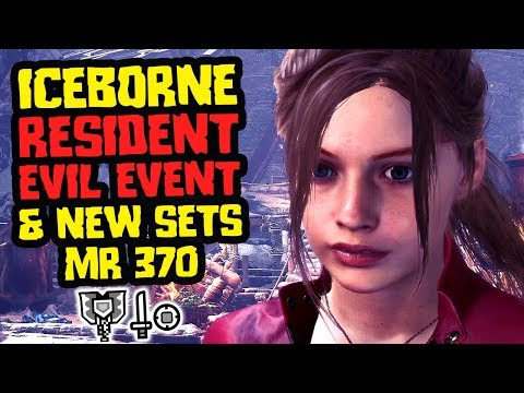 Iceborne Resident Evil Tips & New Sets  - Monster Hunter World [MR 370]