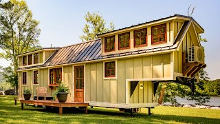 Absolutely Gorgeous 37-foot Denali Tiny House By Timbercraft Tiny Homes | Tiny House Big Living