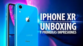 iPhone XR, unboxing y primeras impresiones