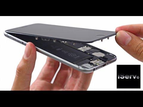 Как разобрать IPhone 6. Замена разъема зарядки в айфон 6