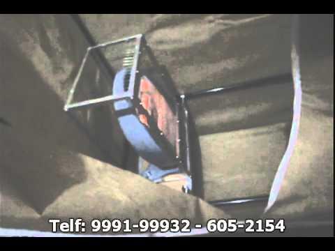 Centrifugadora casera doovi - Secador de ropa ...