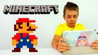 #Майнкрафт ЛАБИРИНТ для МАРИО! Игра в пряталки с #Игробой Глеб. Видео #длямальчиков Игры #minecraft