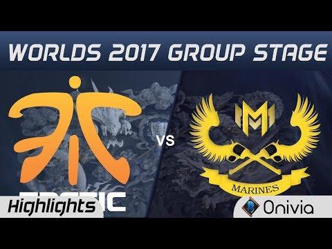 FNC vs GAM Highlights World Championship 2017 Group Stage Fnatic vs Gigabyte Marines by Onivia