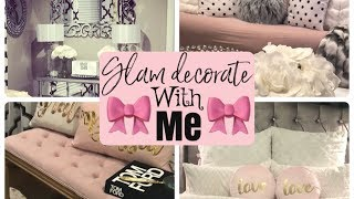 DECORATE WITH ME GLAM HOME STYLING