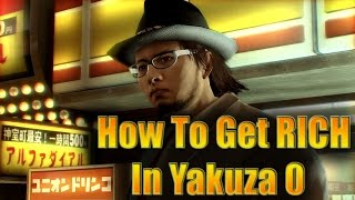 Yakuza 0 - How to Max Out Your Money In 30 Minutes Or Less (9,999,999,999,999 Yen!)