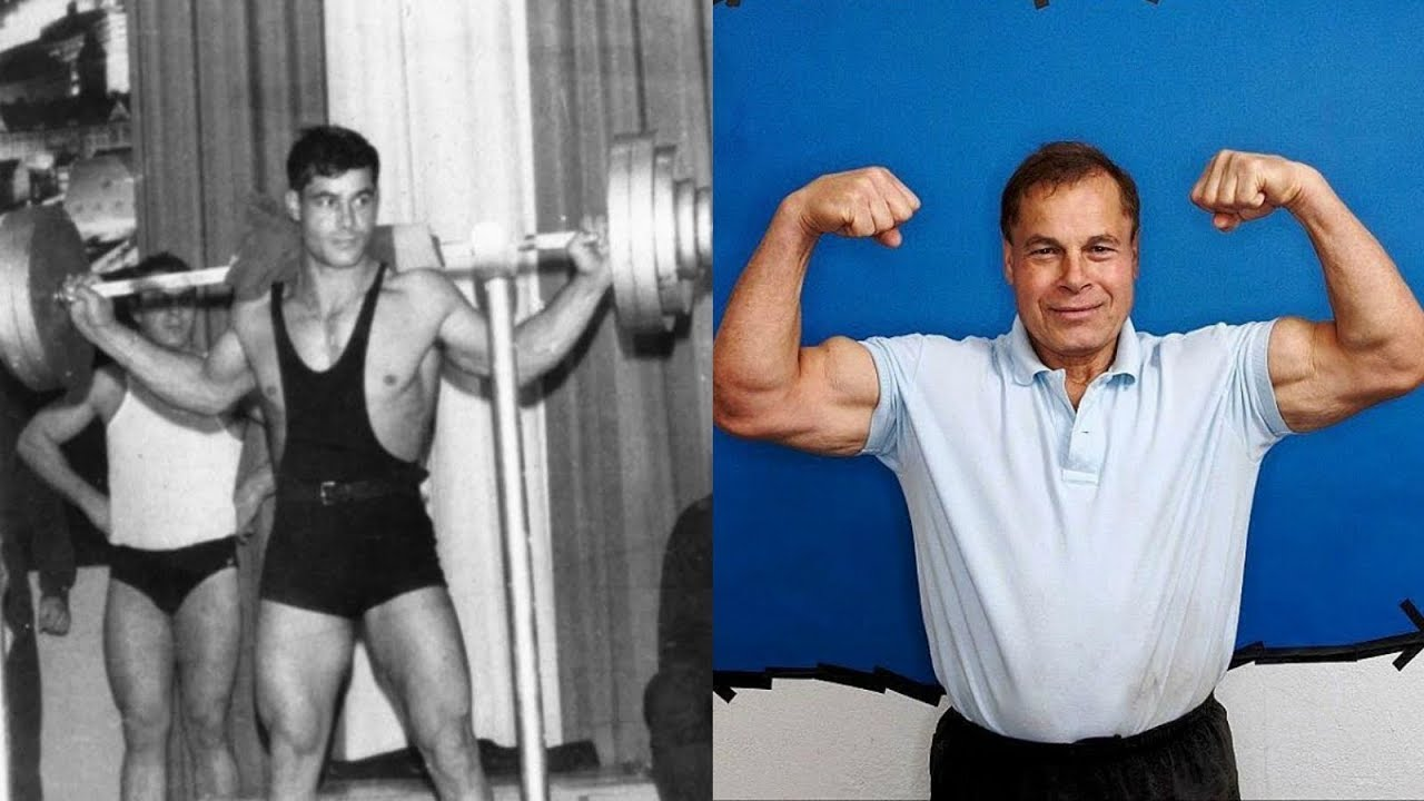 Franco Columbu transformation from 16 to 76 years old ...