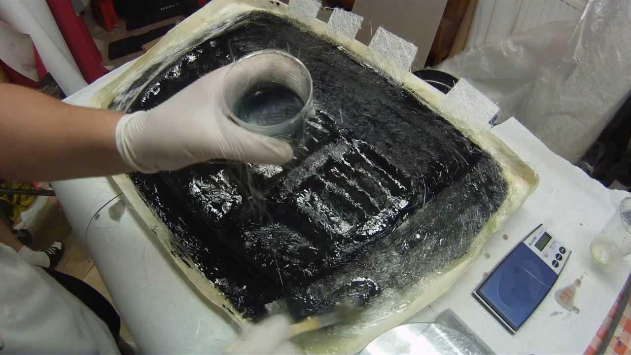 how to make nissan pulsar gtir bonnet scoop fiberglass