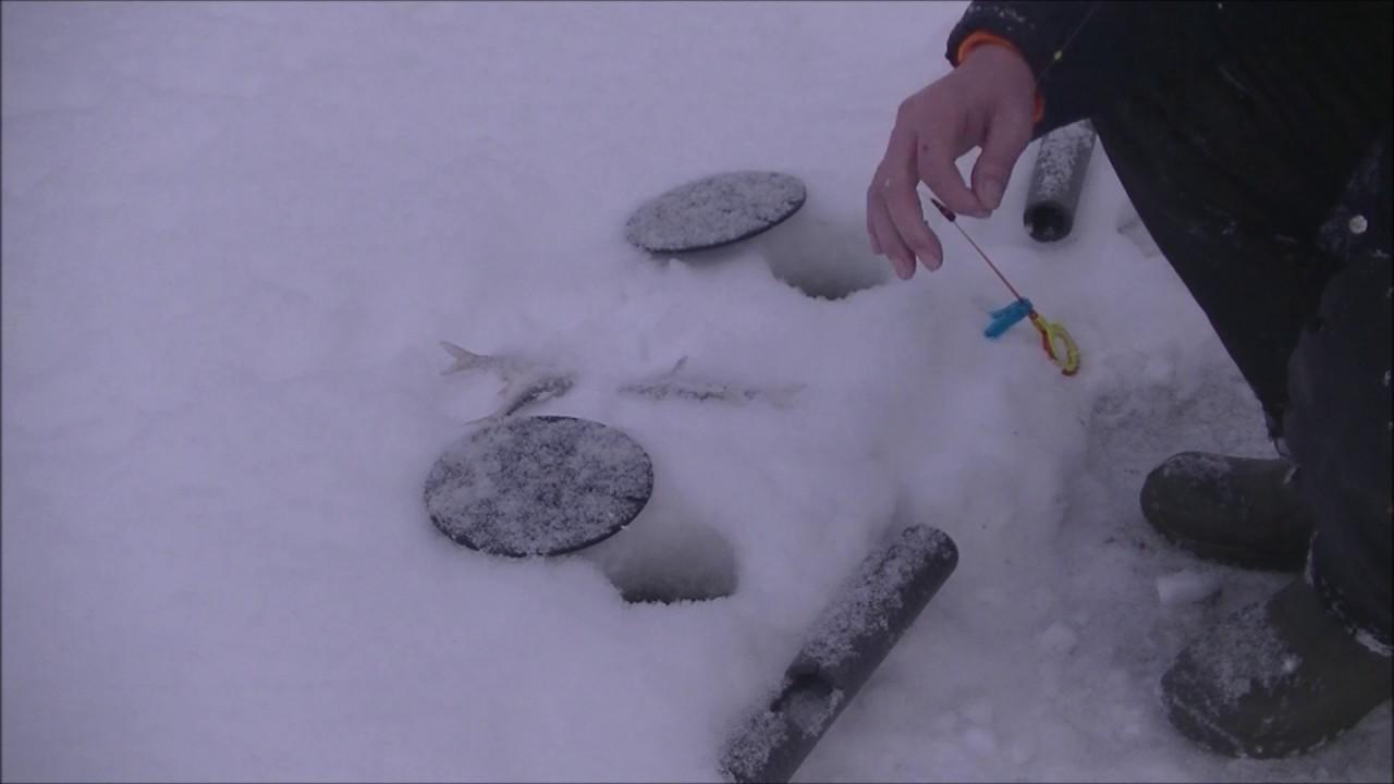 Зимняя рыбалка на мормышки