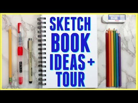 5 Ways to Fill Your Sketchbook + Mini Sketchbook Tour! (Part 5)
