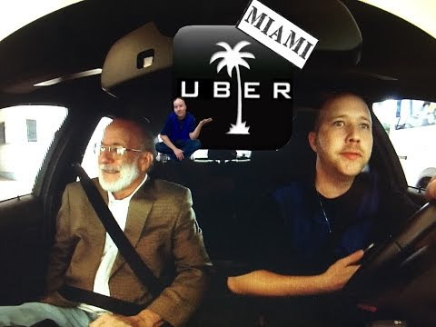 UberCast Miami Rides and Stories. Naval Architect. IMPRESSIVE CAREER.