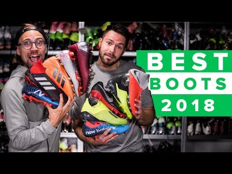 TOP 5 BEST FOOTBALL BOOTS OF 2018 With SR4U