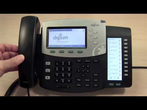 Digium IP Phones Training | 10 Placing and Answering Calls | D40, D45, D50, & D60