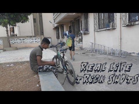 REAL LIFE TRICK SHOTS    TRIO DUDE PERFECT   
