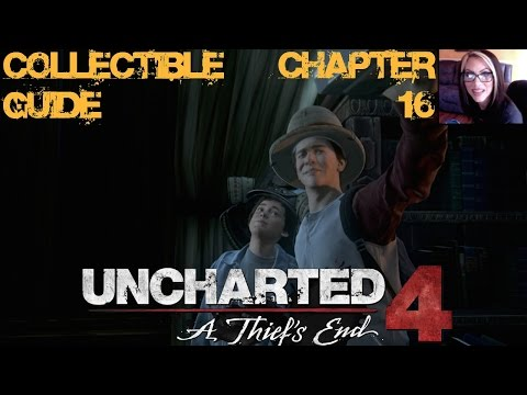 UNCHARTED 4 - COLLECTIBLE GUIDE CHAPTER 16