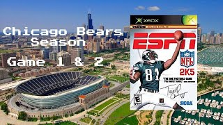 ESPN NFL 2K5 - Xbox - Season with Chicago Bears