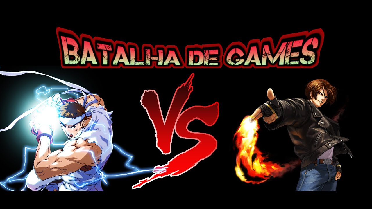 street fighter vs the king of fighters batalha de games