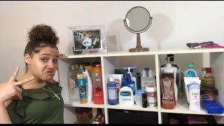 How I Organize My Hygiene Products!! + Mini Vlog!