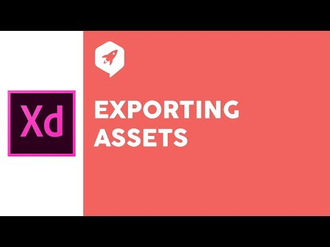 Adobe XD Tutorial 34 Exporting Assets