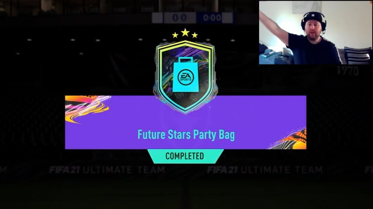 FUTURE STARS PARTY BAG SBC! here's what i got... (FIFA 21 - Ultimate Team)