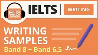 IELTS Writing Samples: Band 8 and Band 6.5