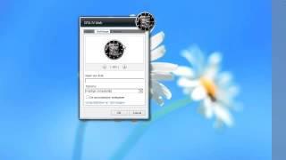 Fancy GTA IV Clock Gadget for Windows 7 Desktop