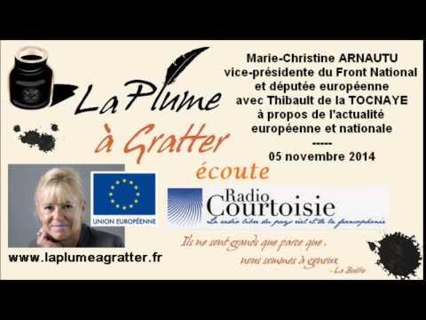 Actualité européenne et nationale avec Marie-Christine ARNAUTU - 05 novembre 2014
