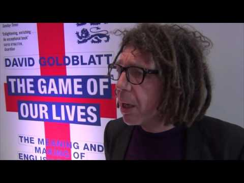 SPORTS BOOK INTERVIEW - THE GAME OF OUR LIVES by DAVID GOLDBLATT