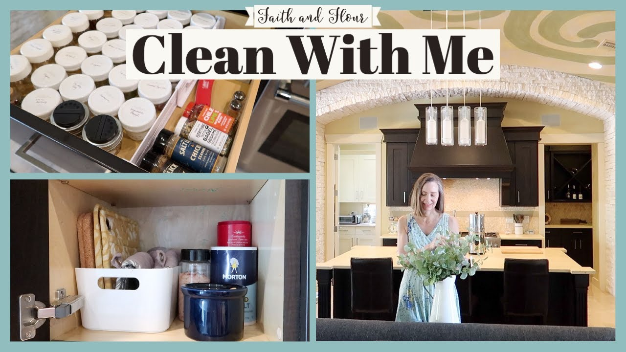 Clean With Me 2021 |  Kitchen Organization & Summer Reset | Speed Cleaning Motivation