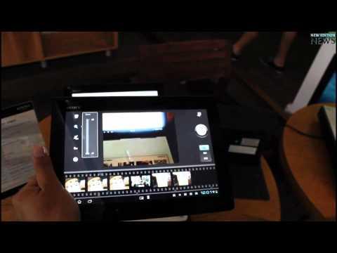 Tableta Sony Xperia S Prezentare