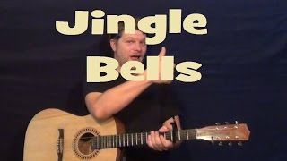 Download lagu Jingle Bells (CHRISTMAS CAROL) Guitar Lesson Chords Easy Strum Chords How to Play Tutorial