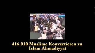 416.010 Muslime konvertieren zu ISLAM AHMADIYYA - in 2010