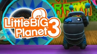 LittleBigPlanet 3 - Oddsock Gameplay - PS4 LBP3