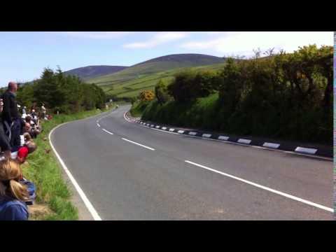 Gary Johnson Isle Of Man TT 2013 MV Agusta 11th Milestone