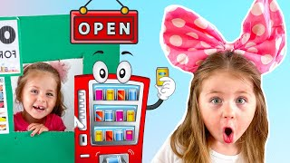 Vending Machine Kids Toy Story | 키즈 자이언트 자동 판매기 아이 장난감 놀이 척