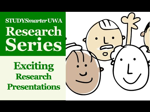 How to Give Exciting Research Presentations