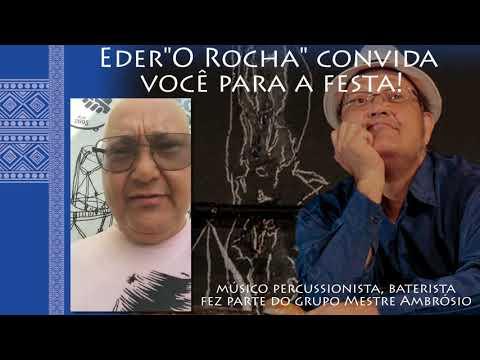 """III Festa """"A Corte dos Òrìṣà"""" - Convite de Eder """"O Rocha"""""""