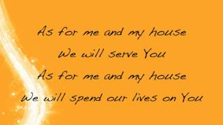 Brian Doerksen - Today (As For Me and My House) - with lyrics