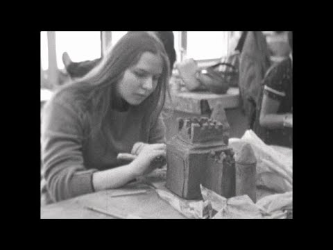 """""""The High School of The Arts"""" University City High School Documentary 1975  (Remastered)"""