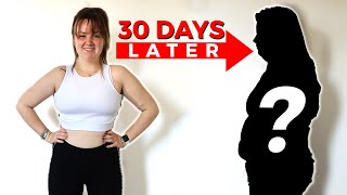 My sister transformed her body in 90 days. This is her 30 days later.
