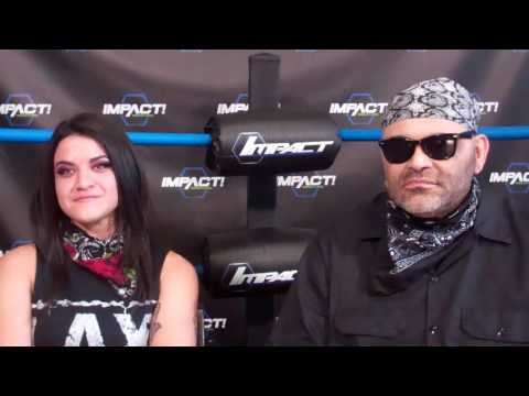 (Part 2) LAX Diamante and Konnan Interview at GFW/Impact Wrestling in Orlando July 2017