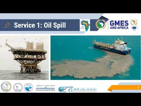 NAfcoast provide Oil Spill Monitoring Service in North Africa