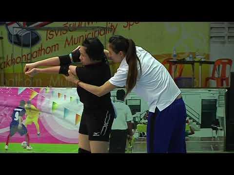 21 05 2561 ไทเปซ้อม @SMM 12th Asian Est Cola Women's U17 Volleyball Championship