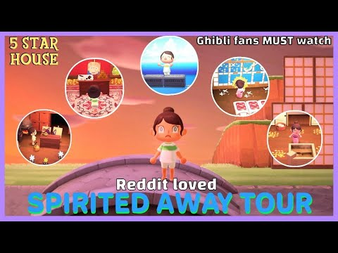 Reddit Loved Spirited Away House Tour Boiler Room Train Station Yubaba S Study Stink Spirit Youtube